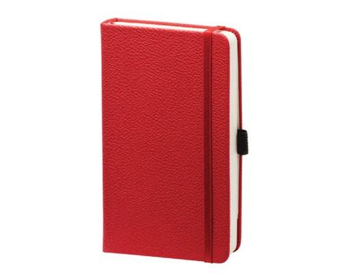 Записная книжка Lifestyle, 9x14 см, 192 стр, с резинкой, I308/red