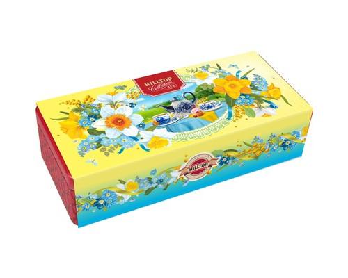 Чай Шкатулка Восточная красавица 50г.+2х60г Нарциссы