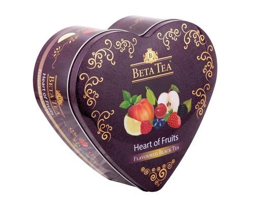 Чай Бета Фруктовое Сердце муз шкатулка 40пак