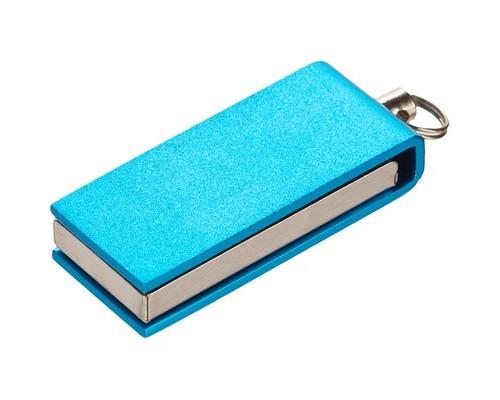 Флеш-память ICONIK СВИВЕЛ голубой 8GB(MT-SWLB-8GB)