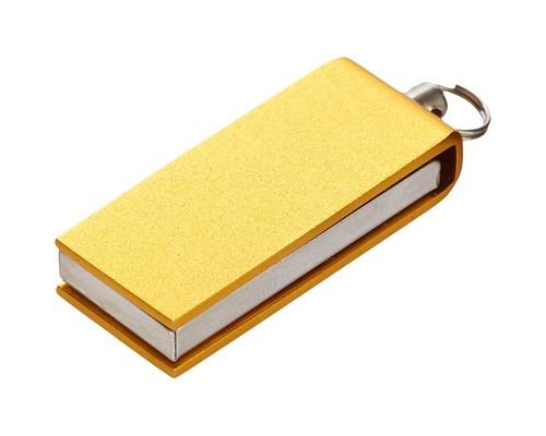 Флеш-память ICONIK СВИВЕЛ золотой 8GB(MT-SWGL-8GB)
