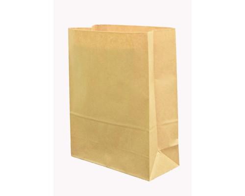 Пакеты из крафт-бумаги (без ручек,цвет натур. крафт 18+12x29, 78 г/м2)