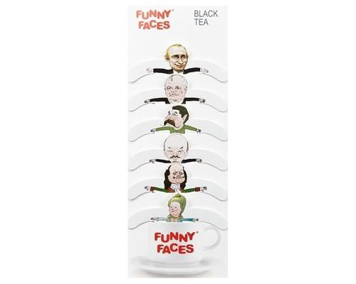 Чай Funny Faces государственный черный