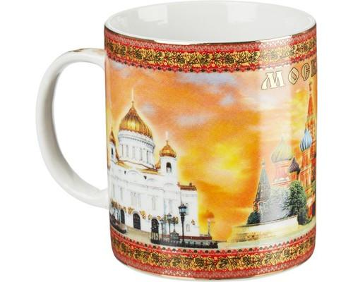 Кружка 280 мл.Москва-Храм Спасителя, Собор В. Б., Кремль 900053