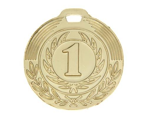 Медаль 021 диам 4 см. 1 место. Цвет зол 1108661