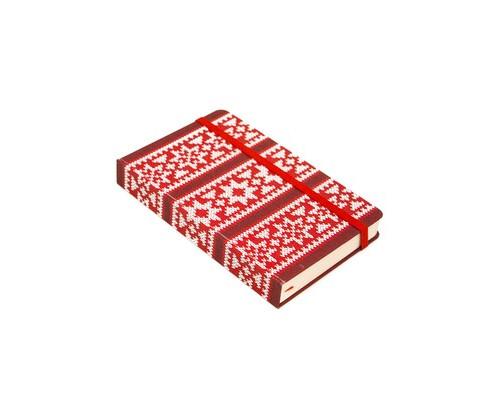 Записная книжка Hand made красный линейка/R1-276 08 44