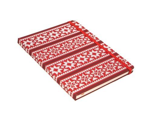Записная книжка Hand made красный клетка/R1-244 08 44