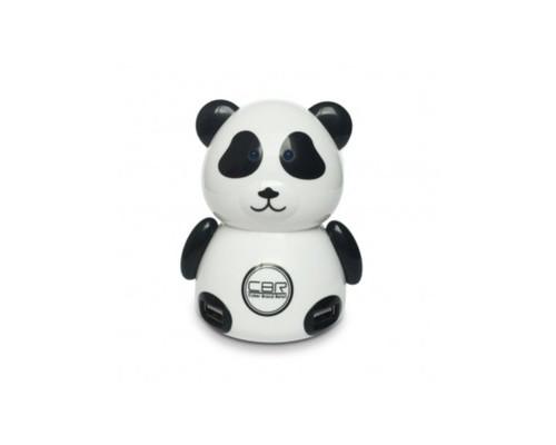 Концентратор USB CBR MF-400 Панда, 4 порта, USB 2.0,