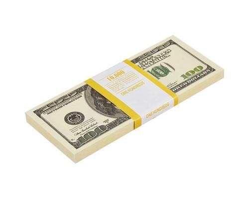 Блокнот пачка 100 $