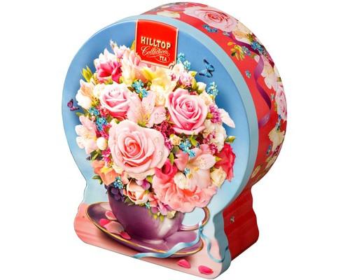 Чай Земляника со сливками 100г шар Нежный букет
