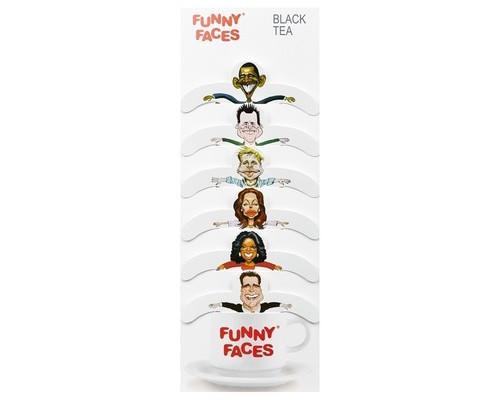 Чай Funny Faces капиталистический черный