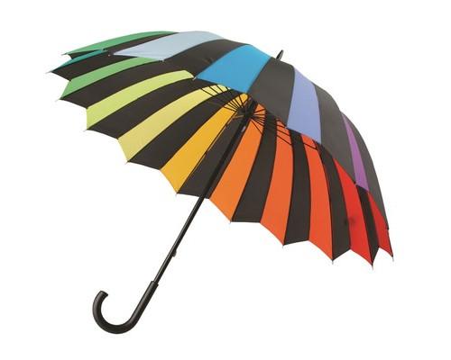 Зонт трость ?Радужный спектр?