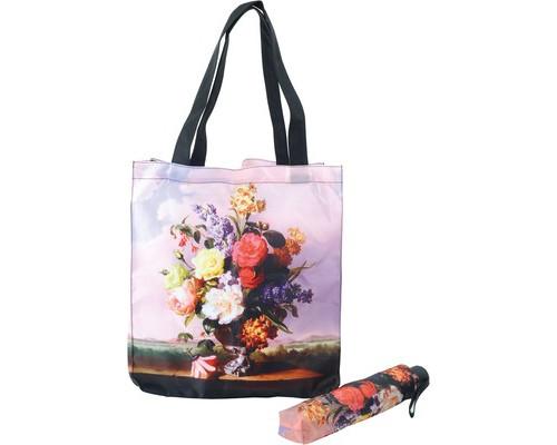Подарочный набор ?Букет?: зонт и сумка для шопинга, 907168