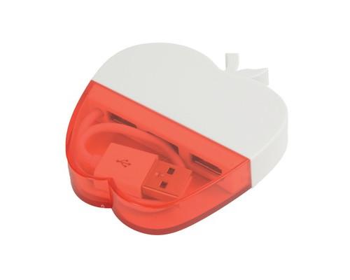 Разветвитель USB USB на 3 порта Красное яблоко (628981)