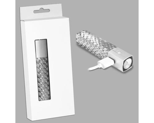 Аккумулятор Элегант серебро (МЗУ-07с)
