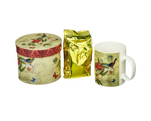 Чай С1602 ABIGAIL зел с жасм в кружке Открытка для любимой 50г