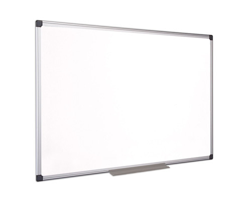 Доска магнитно-маркерная Bi-Office 100x150 см лаковое покрытие алюминиевая рама - (218292К)