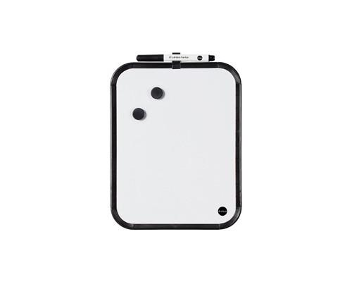 Доска магнитно-маркерная Bi-Office 27.9x35.5 см лаковое покрытие планшет черная рама - (273237К)