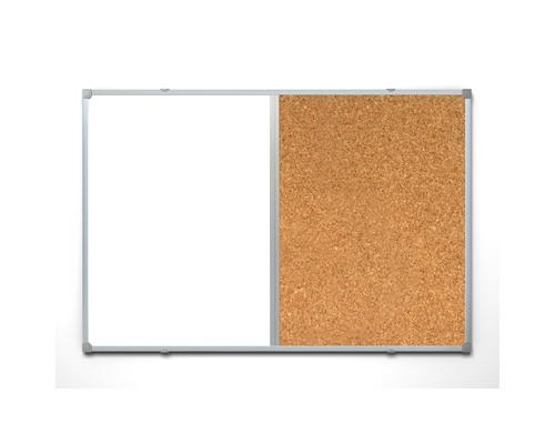 Доска комбинированная Attache 90х120 см алюминиевая рама - (391347К)