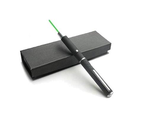 Указка лазерная зеленый луч радиус действия 1000 м - (224784К)