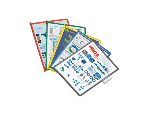Панель для демосистемы Меga Office А4 10 штук цвета в ассортименте - (268193К)