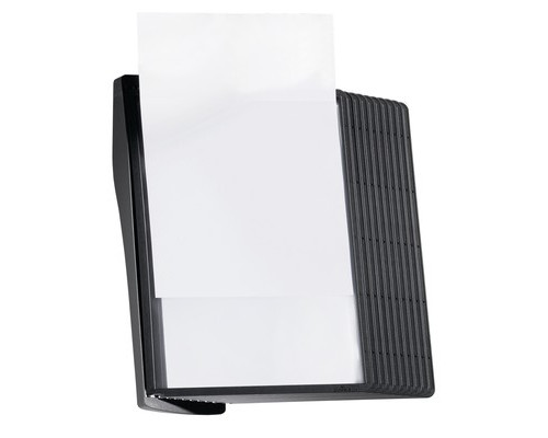 Демосистема настенная Durable Sherpa Style черная 10 панелей - (274096К)
