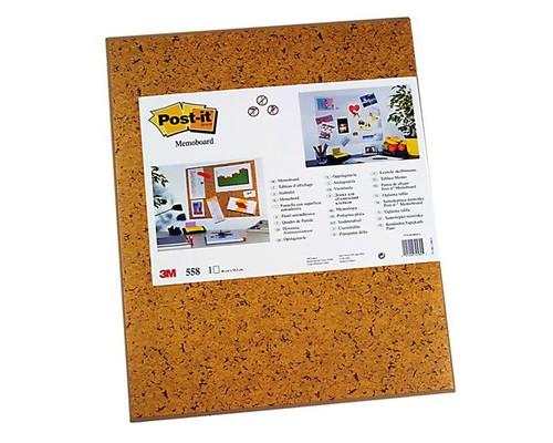 Доска клейкая Post-it 58.5x46 см коричневая - (289К)