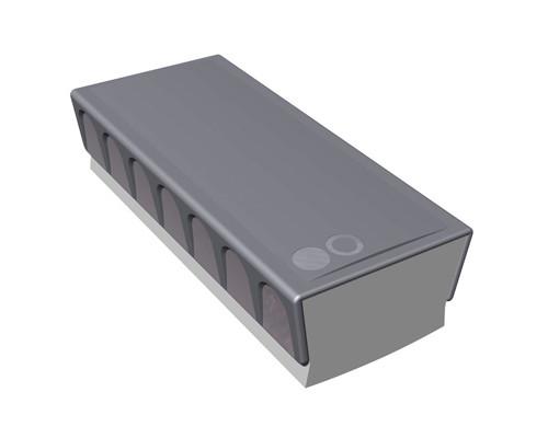 Губка магнитная для маркерных досок Attache 160x70x50 мм - (142336К)