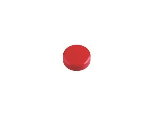 Магнитный держатель для досок Maul Hebel красный диаметр 30 мм 20 штук в упаковке - (631948К)