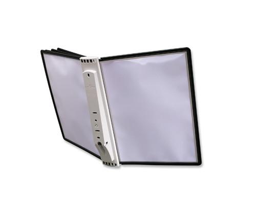 Демосистема настенная 5 панелей черный цвет Durable - (62086К)