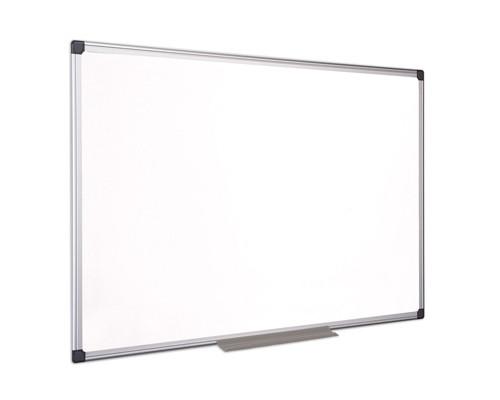 Доска магнитно-маркерная Bi-Office 60x90 см эмалевое покрытие алюминиевая рама - (218294К)