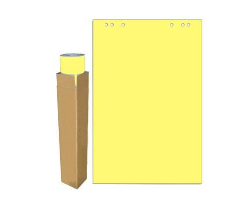 Бумага для флипчартов Attache Selection 68х98 см желтая 20 листов 80 г/кв.м - (659382К)
