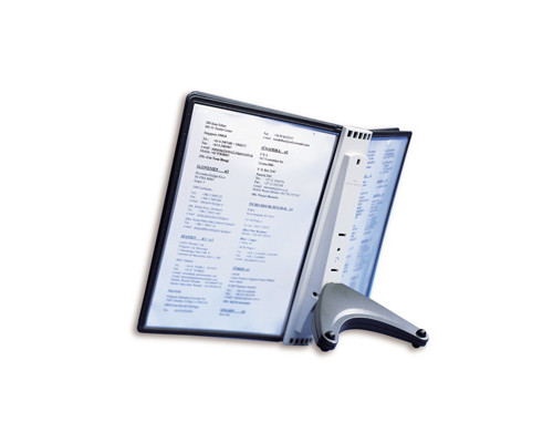 Демосистема настольная Durable Sherpa 5 панелей цвет черный - (53566К)