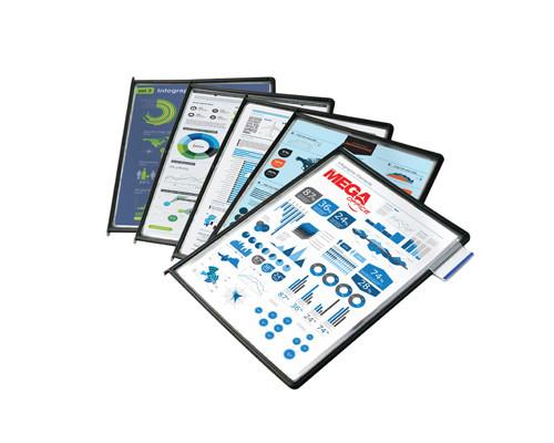 Панель для демосистемы Меga Office А4 графит 10 штук - (268190К)