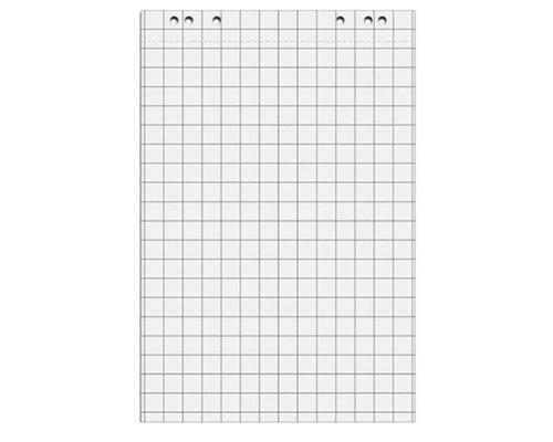 Бумага для флипчартов Attache 67.5х98 см белая 50 листов в клетку 80 г/кв.м 5 блоков - (493371К)