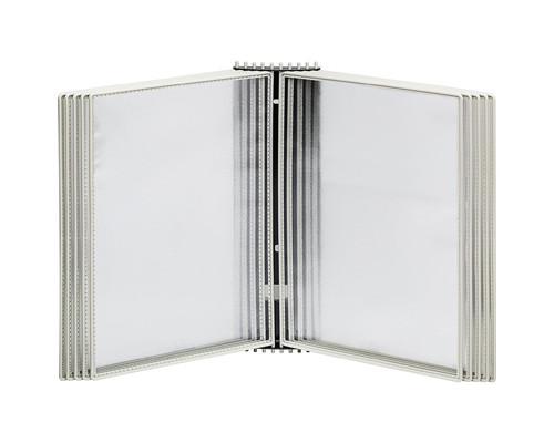 Демосистема настенная 10 панелей цвет серый Mega Office - (272890К)