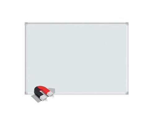 Доска магнитно-маркерная 1-элементная BoardSYS 120x240 см лаковое покрытие алюминиевая рама белая - (357088К)