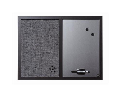 Доска комбинированная Bi-Office 45х60 см деревянная рама - (270235К)