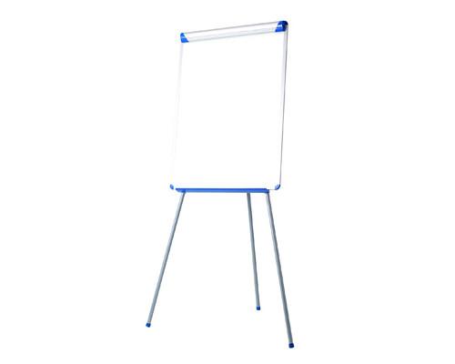 Флипчарт магнитно-маркерный на треноге Bi-Office 70х102 см рама серо-синяя - (270002К)