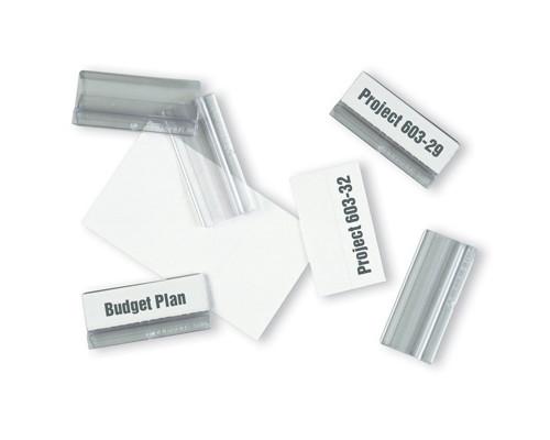 Табуляторы для демопанелей Durable пластиковые 58х26 мм 10 штук - (87662К)