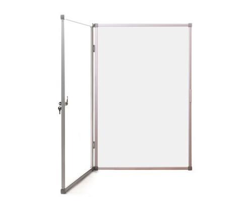 Доска для информации витрина магнитно-маркерная Attache 60x90 см в алюминиевой раме - (414569К)