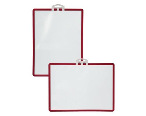 Информационная панель настенная Durable Sherpa А4 красная - (78261К)