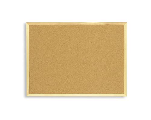 Доска пробковая Attache 45х60 см деревянная рама - (51858К)