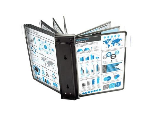 Модуль расширения для демосистемы ProMega Office А4 10 панелей черный - (268183К)