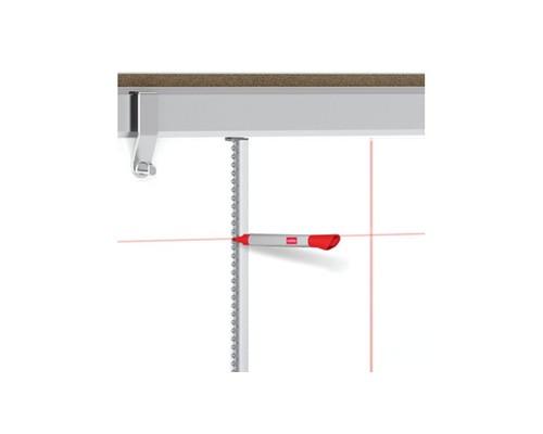 Набор принадлежностей для магнитно-маркерной доски Nobo для черчения линий длина линейки - 120 см - (402055К)