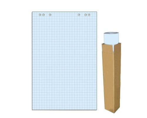 Бумага для флипчартов Attache Selection 68х98 см голубая 20 листов в клетку 80 г/кв.м - (659383К)