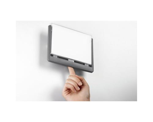Информационная табличка настенная Durable 21х15 см серая пластик-акрил - (273399К)