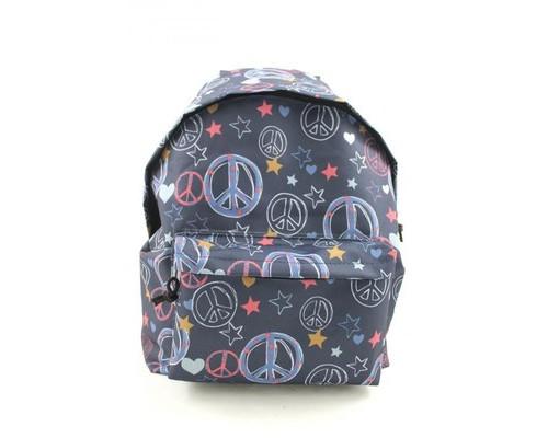 Рюкзак молодежный №1 School пацифик джинс