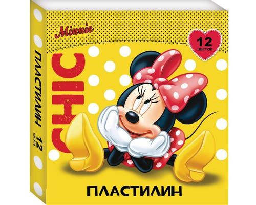 Пластилин Disney Минни 12цв 29384