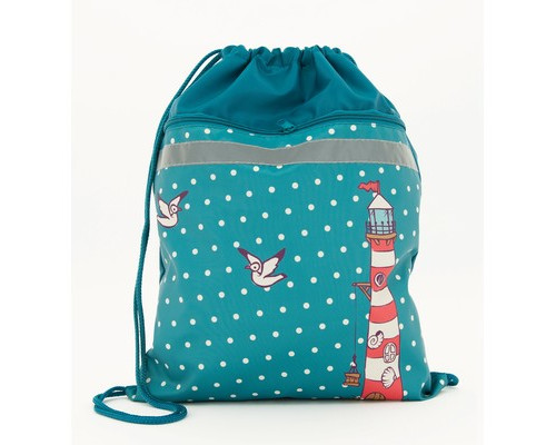Мешок для обуви №1 School Маяк 370*470мм карман МО-26-2с